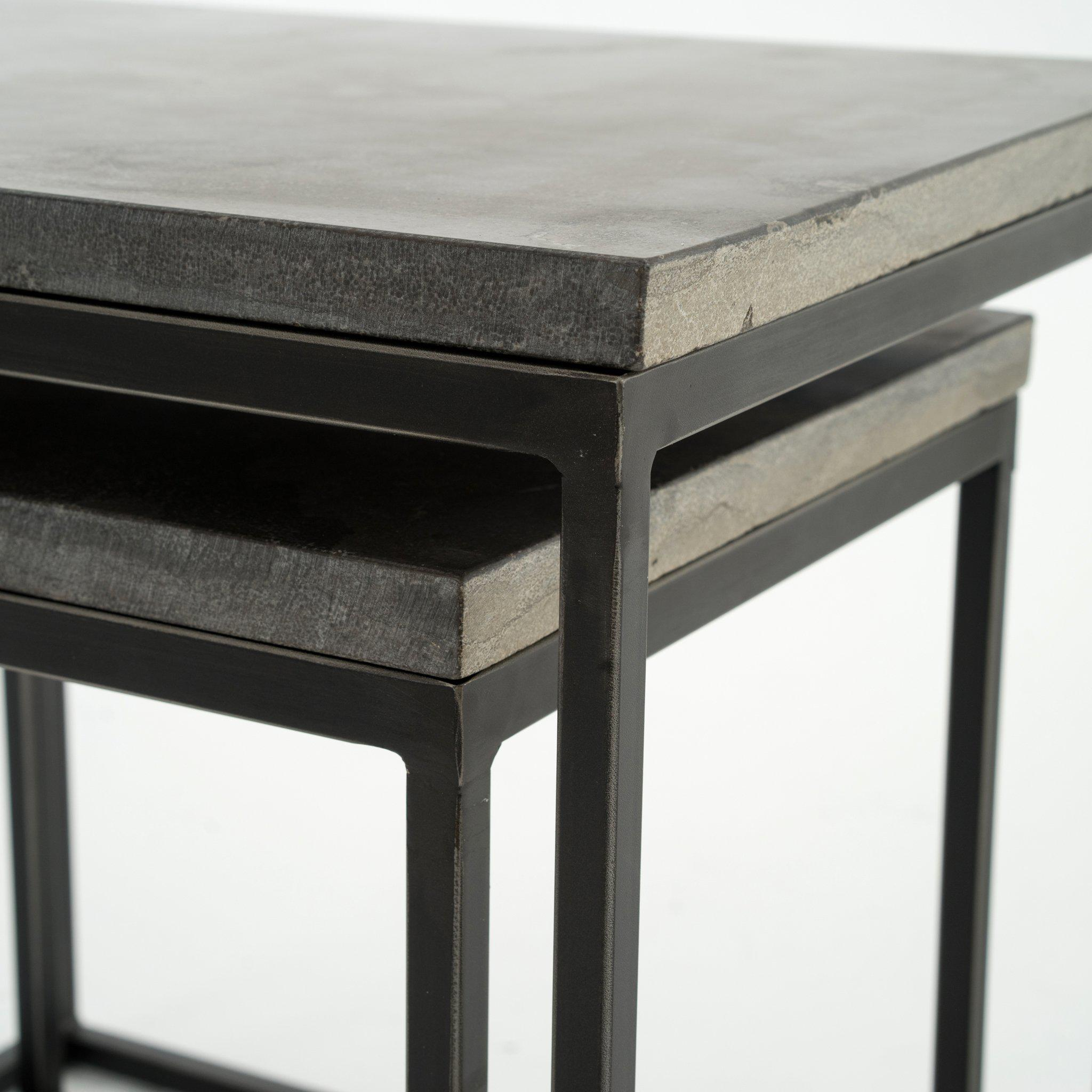 Dublin Nesting End Tables-FURNITURE-Maker & Moss
