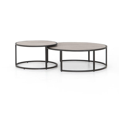 Farrell Outdoor Nesting Table-FURNITURE-Maker & Moss