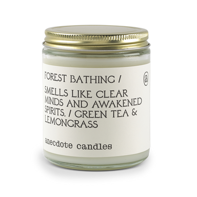 Forest Bathing - Green Tea & Lemongrass-CANDLE-Maker & Moss