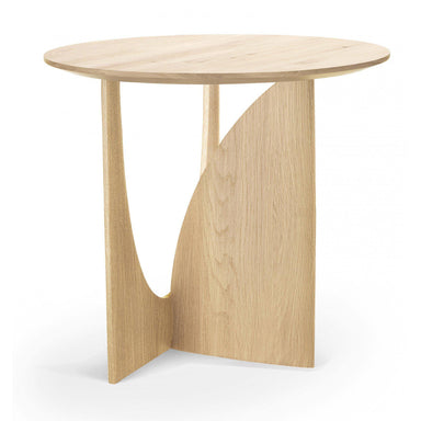 Geometric Side Table-FURNITURE-Maker & Moss