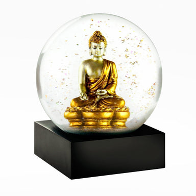 Golden Buddha Snow Globe-DECORATIVE-Maker & Moss