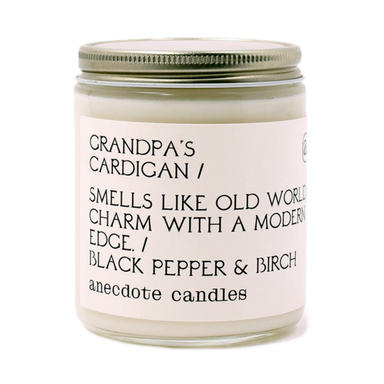 Grandpa's Cardigan - Black Pepper & Birch-CANDLE-Maker & Moss