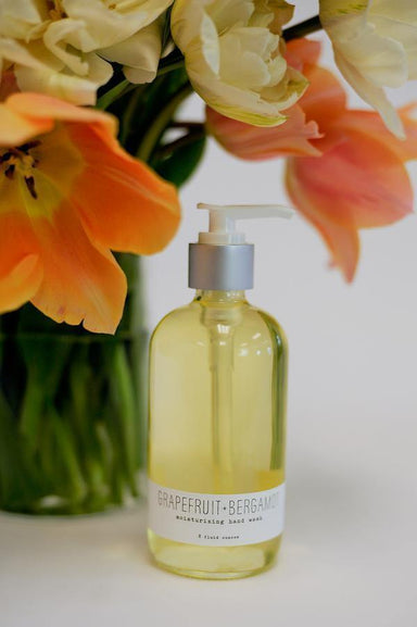 Grapefruit+Bergamot Hand Wash 8oz-BATH & BODY-Maker & Moss