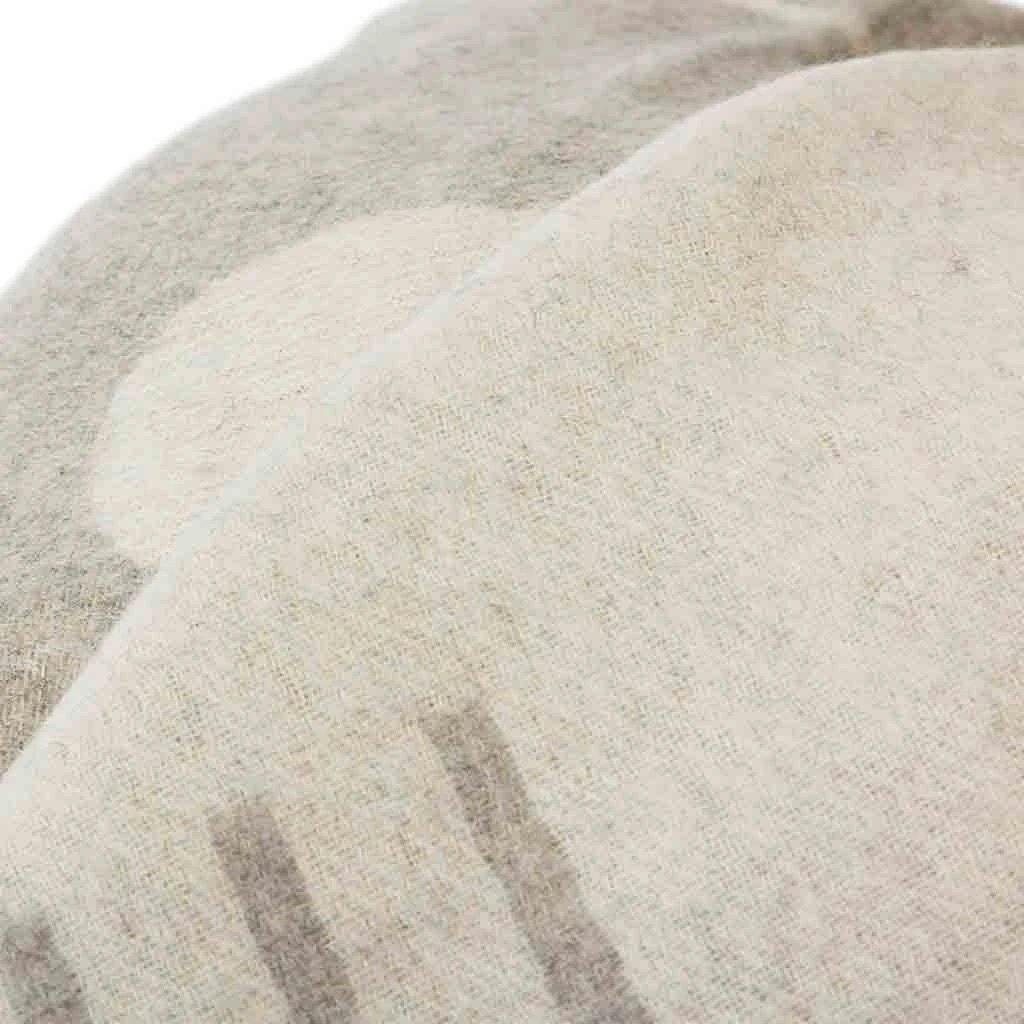 Harvest Moon Reversible Throw Light Heather/Ivory-TEXTILES-Maker & Moss