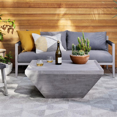 Helm Outdoor Coffee Table - Maker & Moss