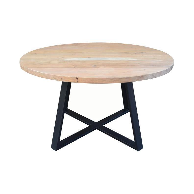 Hemingway Round Dining Table-FURNITURE-Maker & Moss