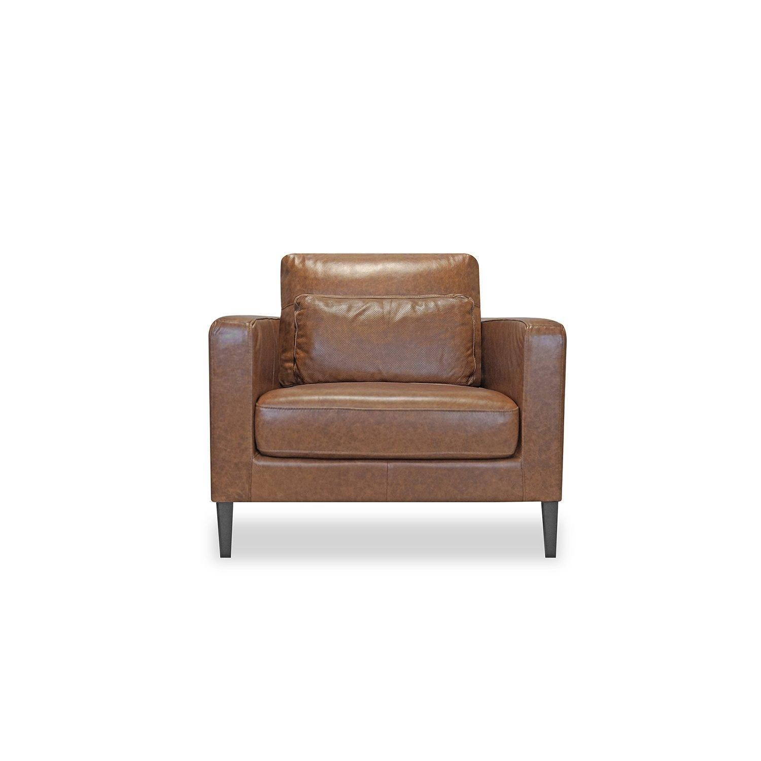 Hilton Leather Chair-FURNITURE-Maker & Moss