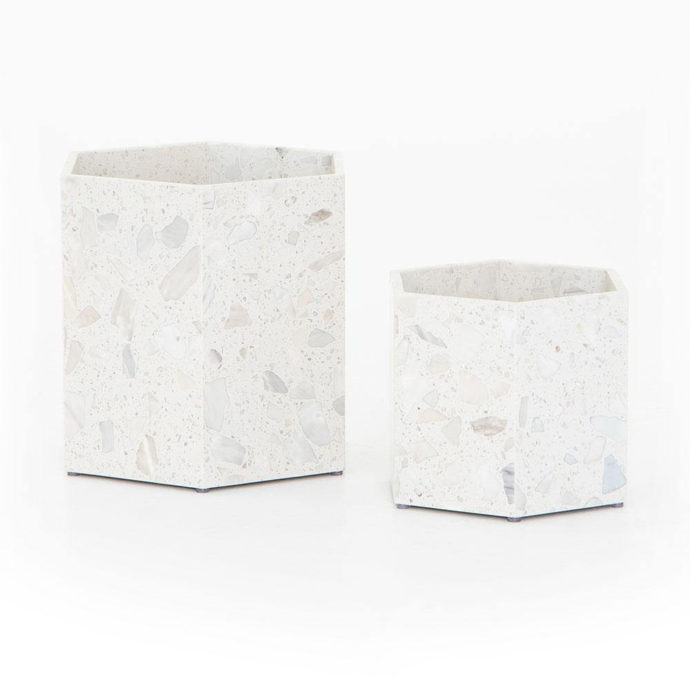 Holland Hexagon Planter - Set of 2