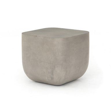 Ina Concrete End Table - Maker & Moss