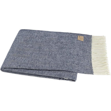 Italian Herringbone Throw-TEXTILES-Maker & Moss