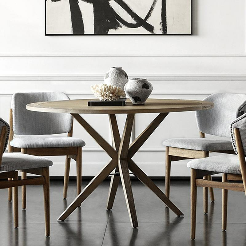 Jax Round Dining Table-FURNITURE-Maker & Moss