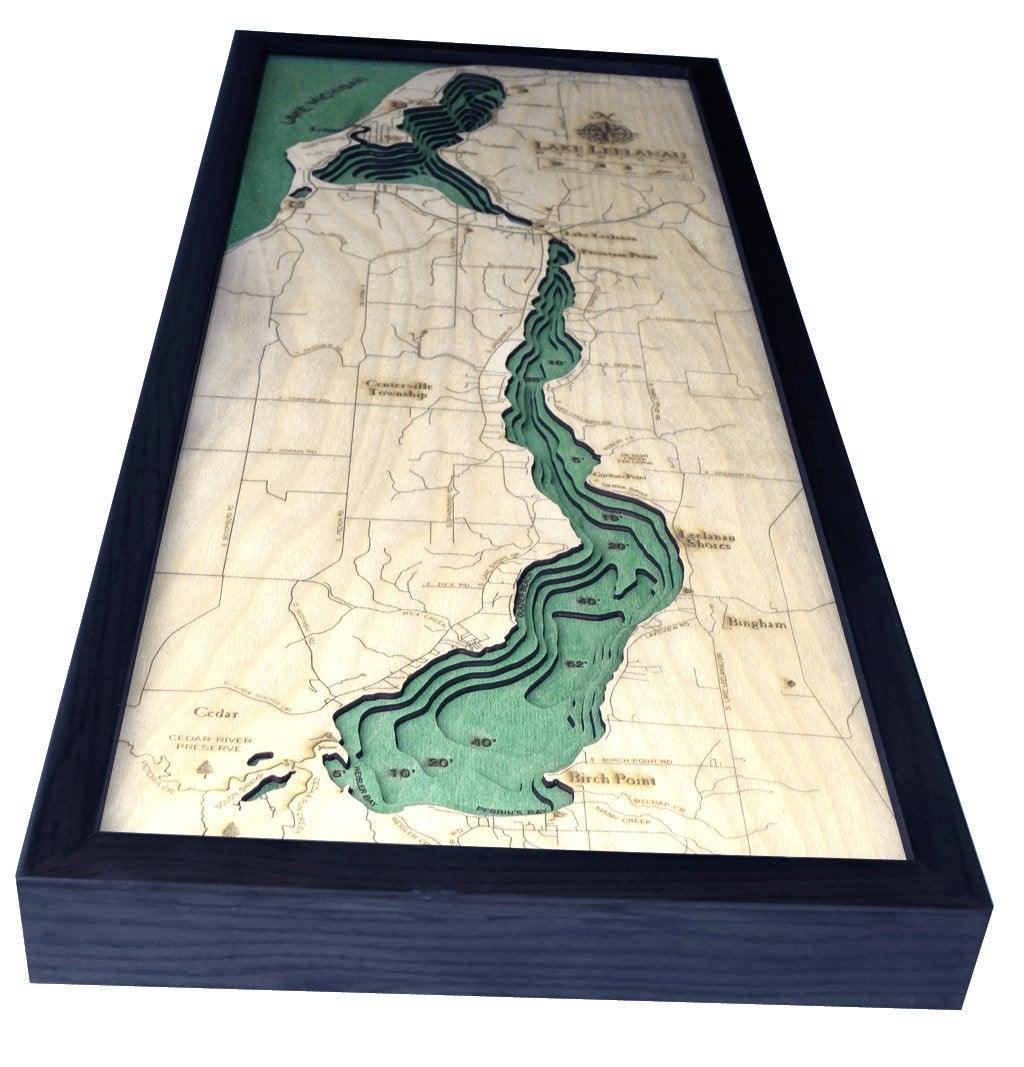 Lake Leelanau Wood Chart-WOOD CHART-Maker & Moss