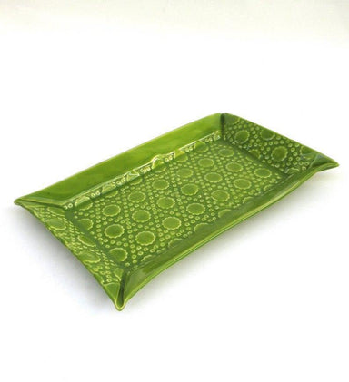 Long Tray Lime Green-TABLETOP-Maker & Moss