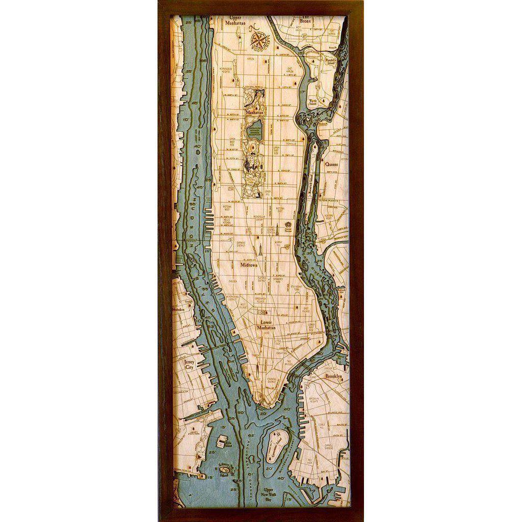 Manhattan Wood Chart-WOOD CHART-Maker & Moss