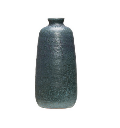 Matte Blue Vase-DECORATIVE-Maker & Moss