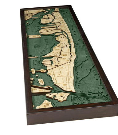 Miami Beach Wood Chart-WOOD CHART-Maker & Moss