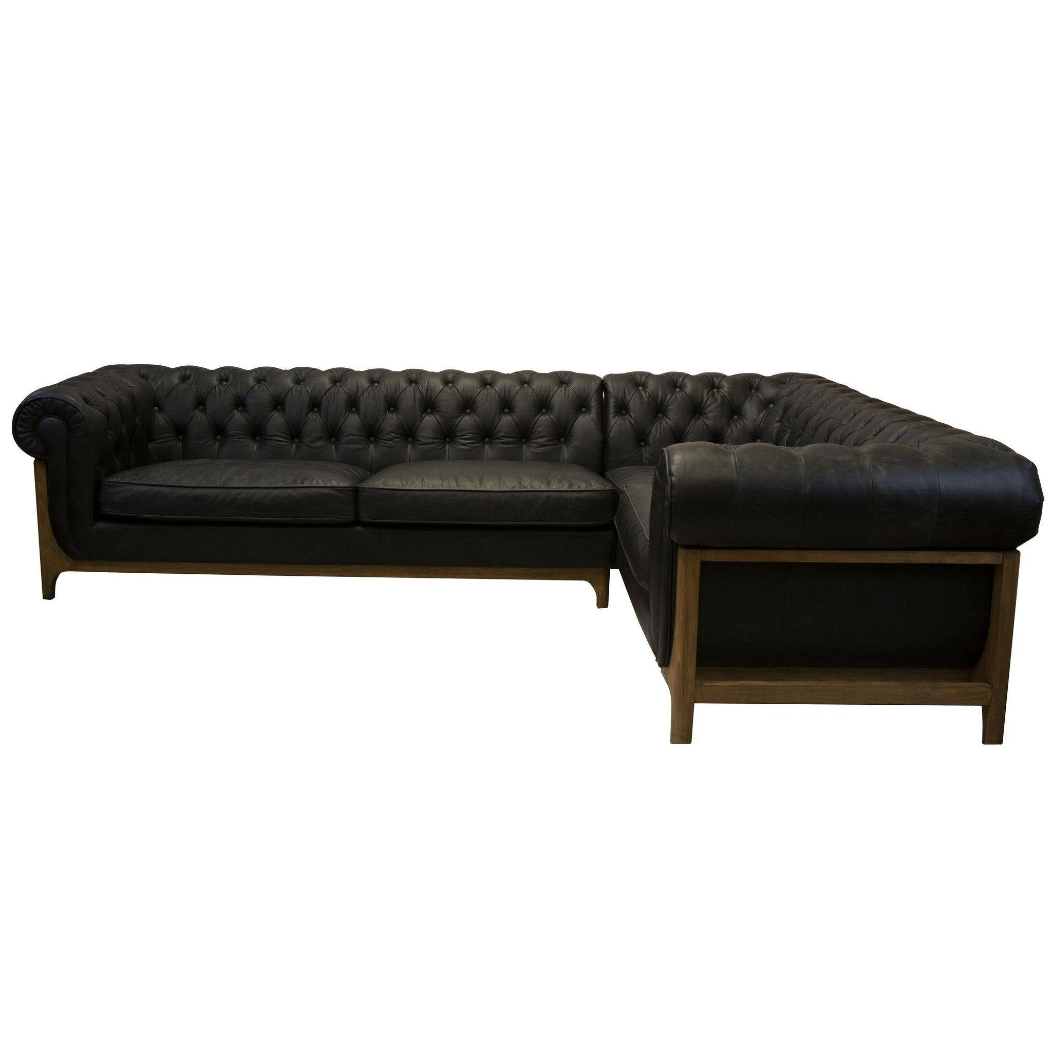 Mod Chesterfield Sectional-FURNITURE-Maker & Moss