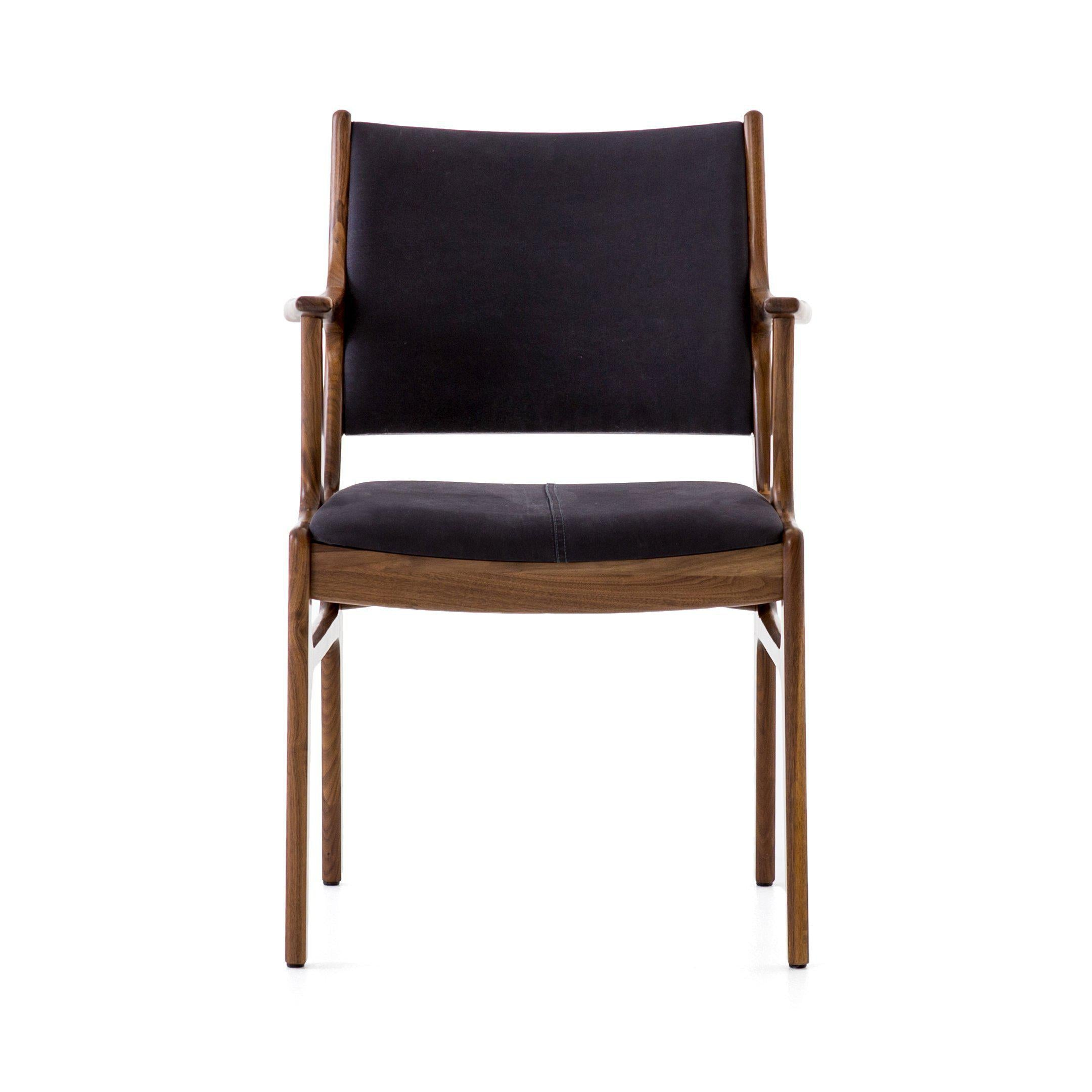 Musbury Arm Chair-FURNITURE-Maker & Moss
