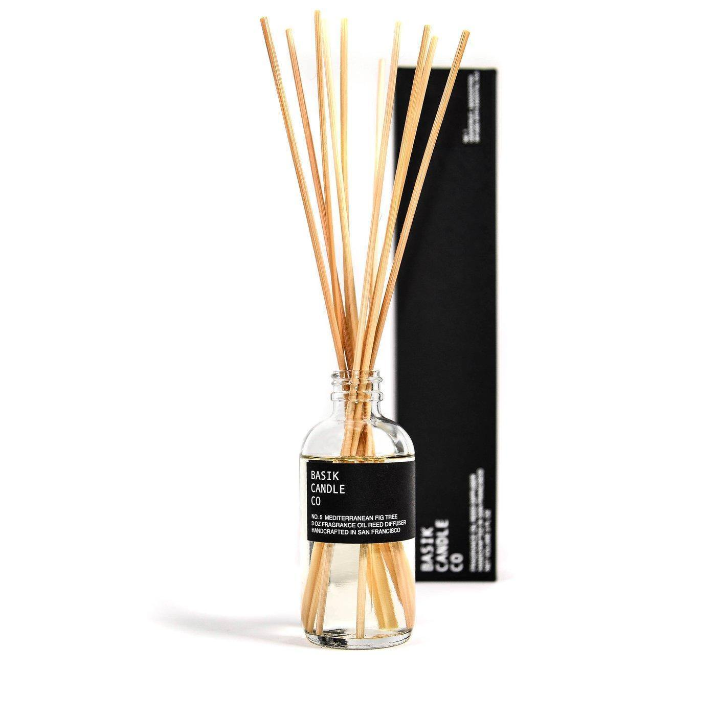 No. 5 Mediterranean Fig Tree Diffuser-CANDLE-Maker & Moss