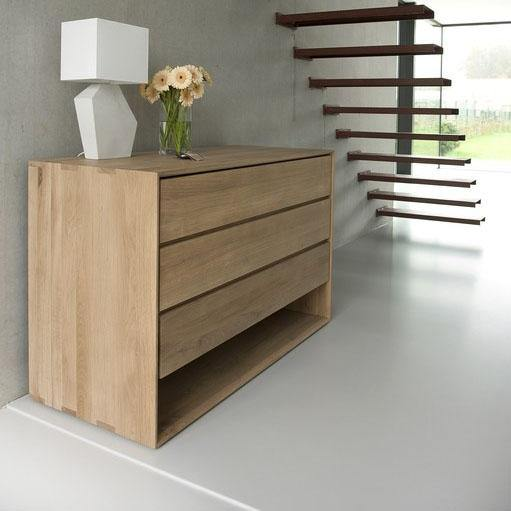 Oak Nordic Chest of Drawers-FURNITURE-Maker & Moss