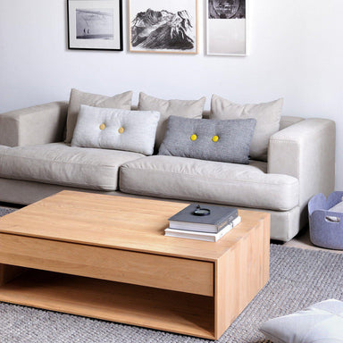 Oak Nordic Coffee Table-FURNITURE-Maker & Moss