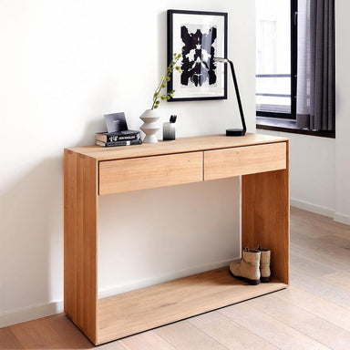 Oak Nordic Console-FURNITURE-Maker & Moss
