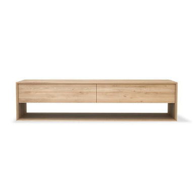 Oak Nordic TV Cupboard-FURNITURE-Maker & Moss