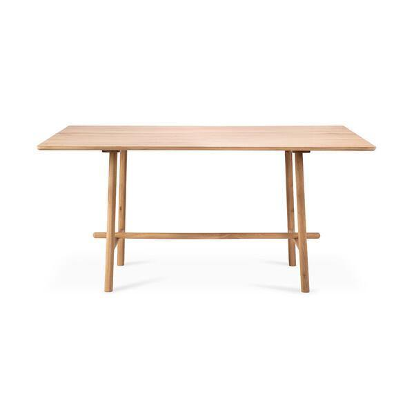 Oak Profile High Meeting Table-FURNITURE-Maker & Moss