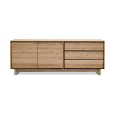 Oak Wave Sideboard-FURNITURE-Maker & Moss