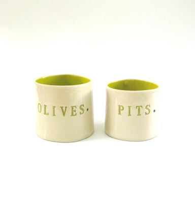 Olives & Pits Set Lime Green-TABLETOP-Maker & Moss
