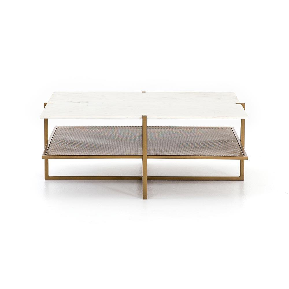 Olivia Square Coffee Table-FURNITURE-Maker & Moss