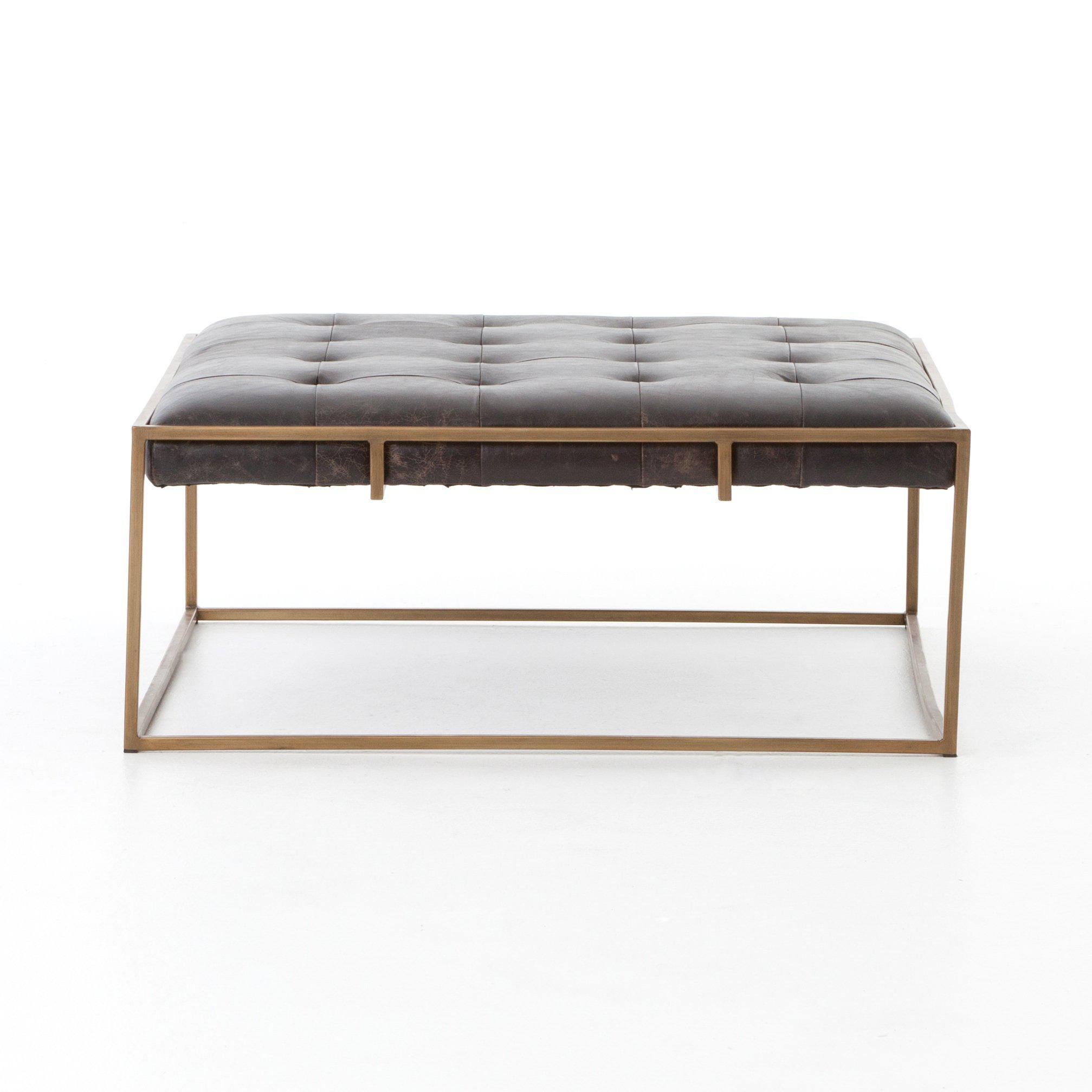 Oxford Square Coffee Table-FURNITURE-Maker & Moss