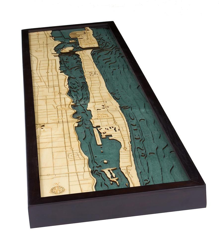 Palm Beach Wood Chart-WOOD CHART-Maker & Moss