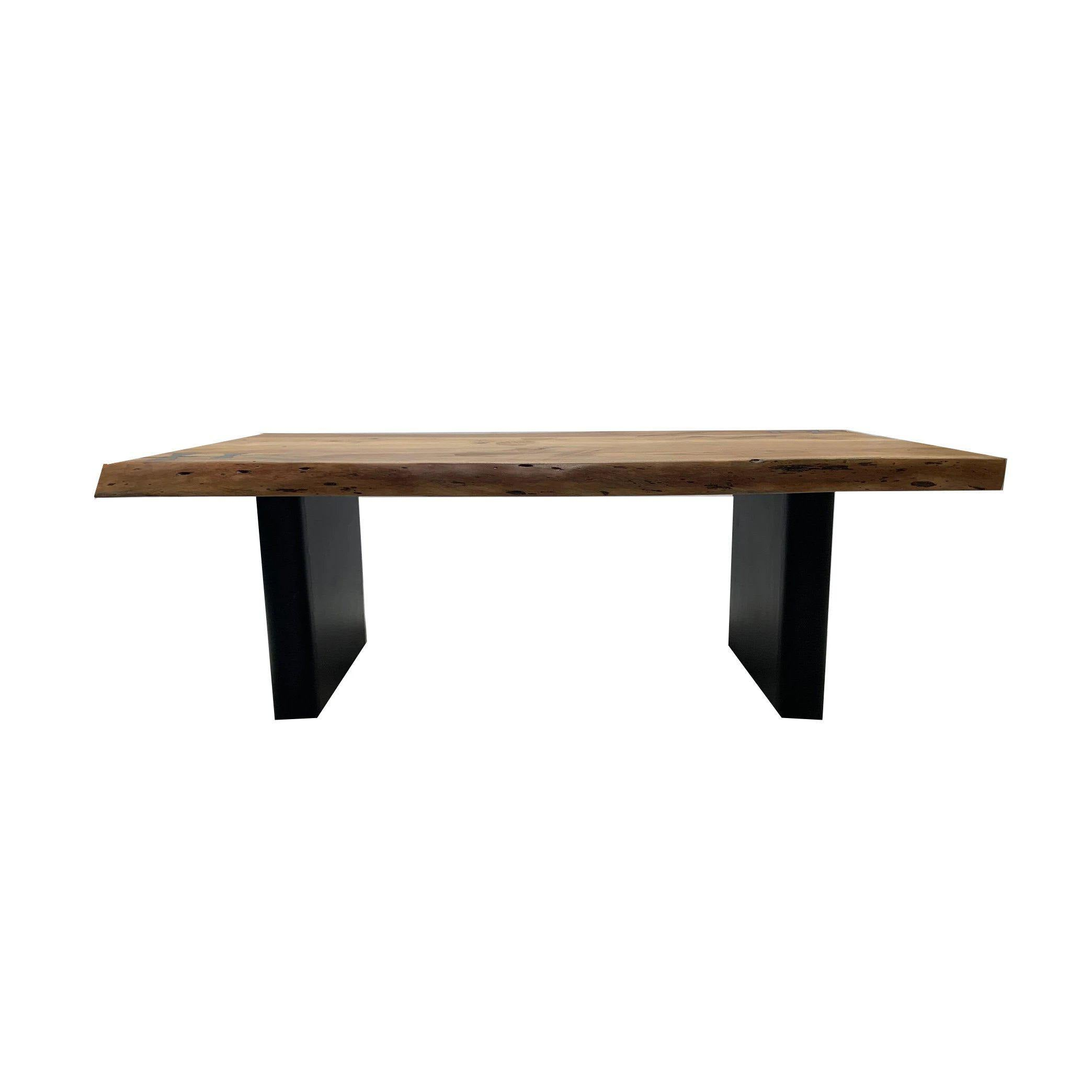 Panama Dining Table-FURNITURE-Maker & Moss