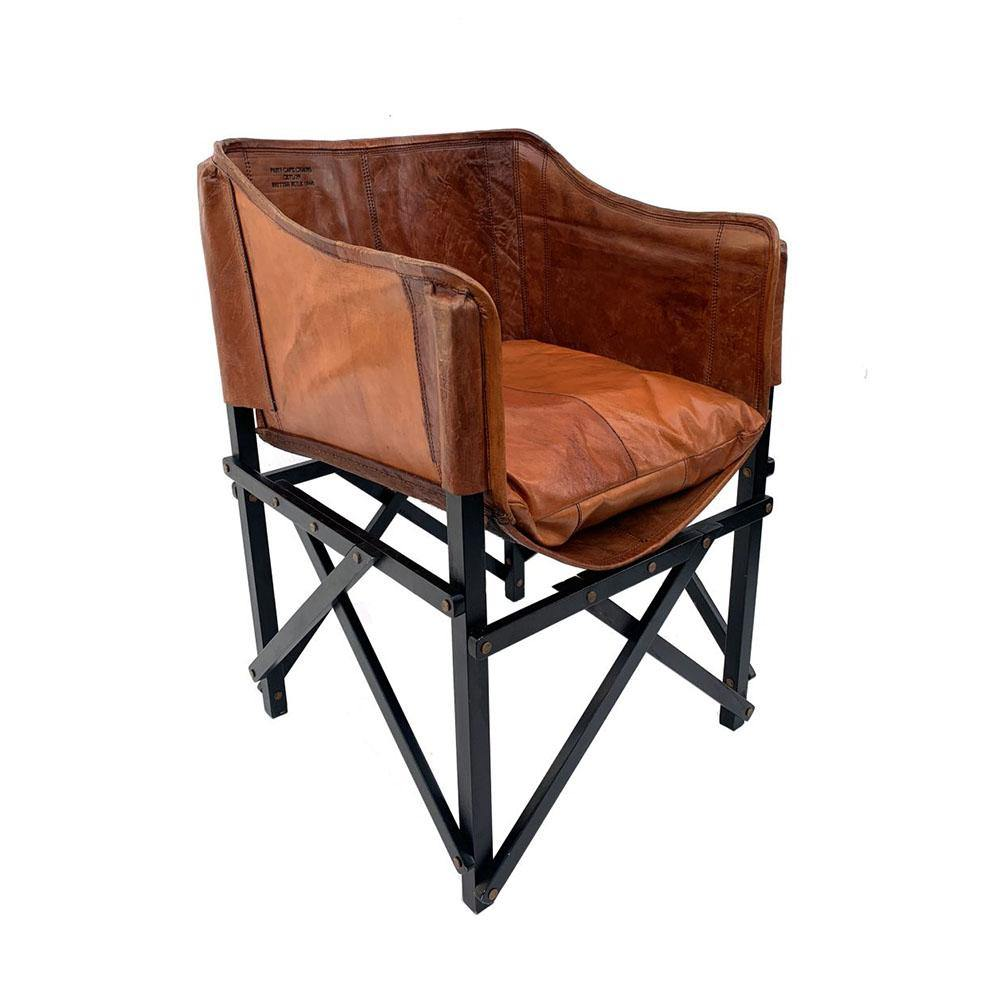 Paris Cafe Chair Antique Leather-FURNITURE-Maker & Moss