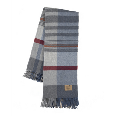 Pisa Plaid Lambswool Throw-TEXTILES-Maker & Moss