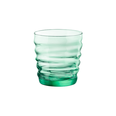 Riflessi Water Glass - Green-GLASSWARE-Maker & Moss