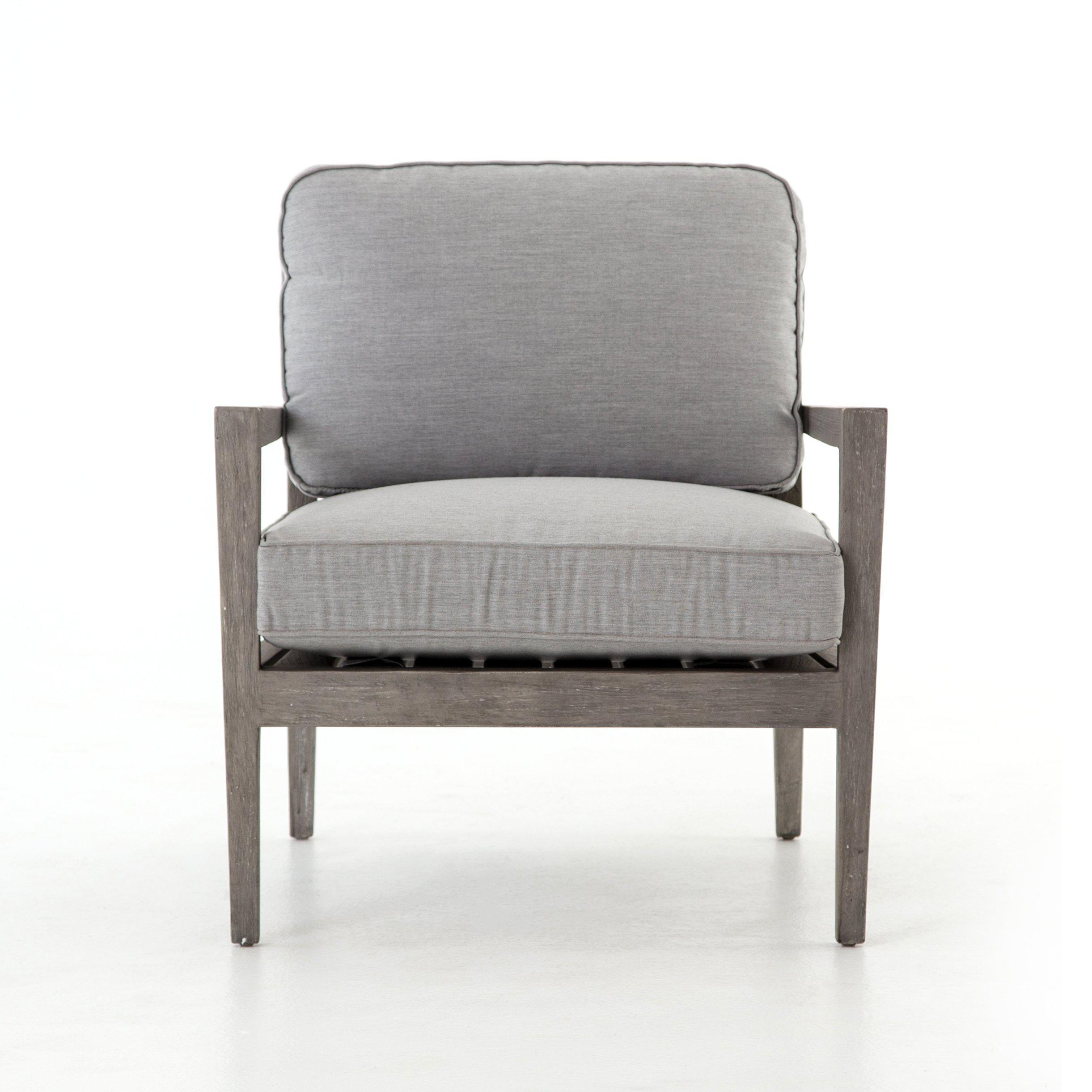 Riviera Outdoor Chair-Weathered Gry Teak-FURNITURE-Maker & Moss