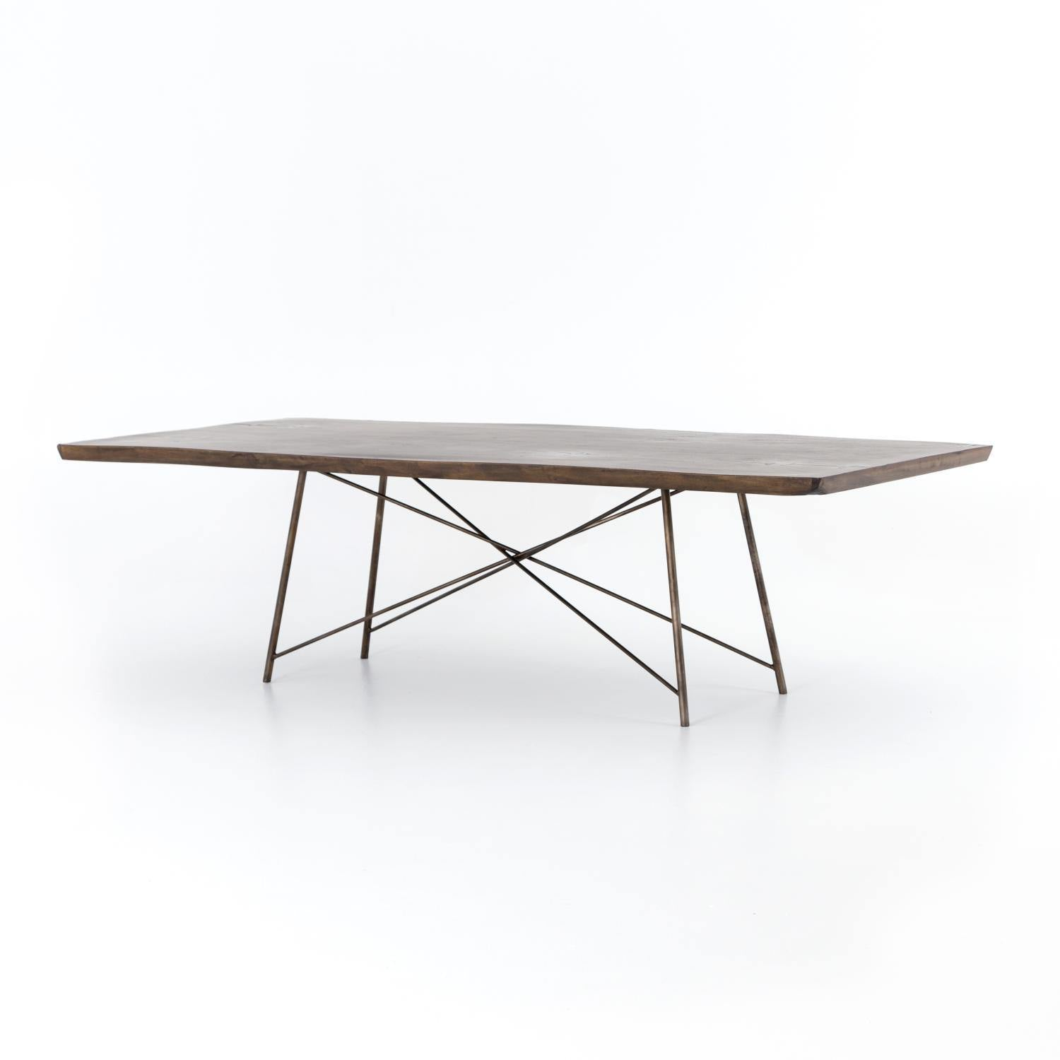 Rocky Dining Table-FURNITURE-Maker & Moss