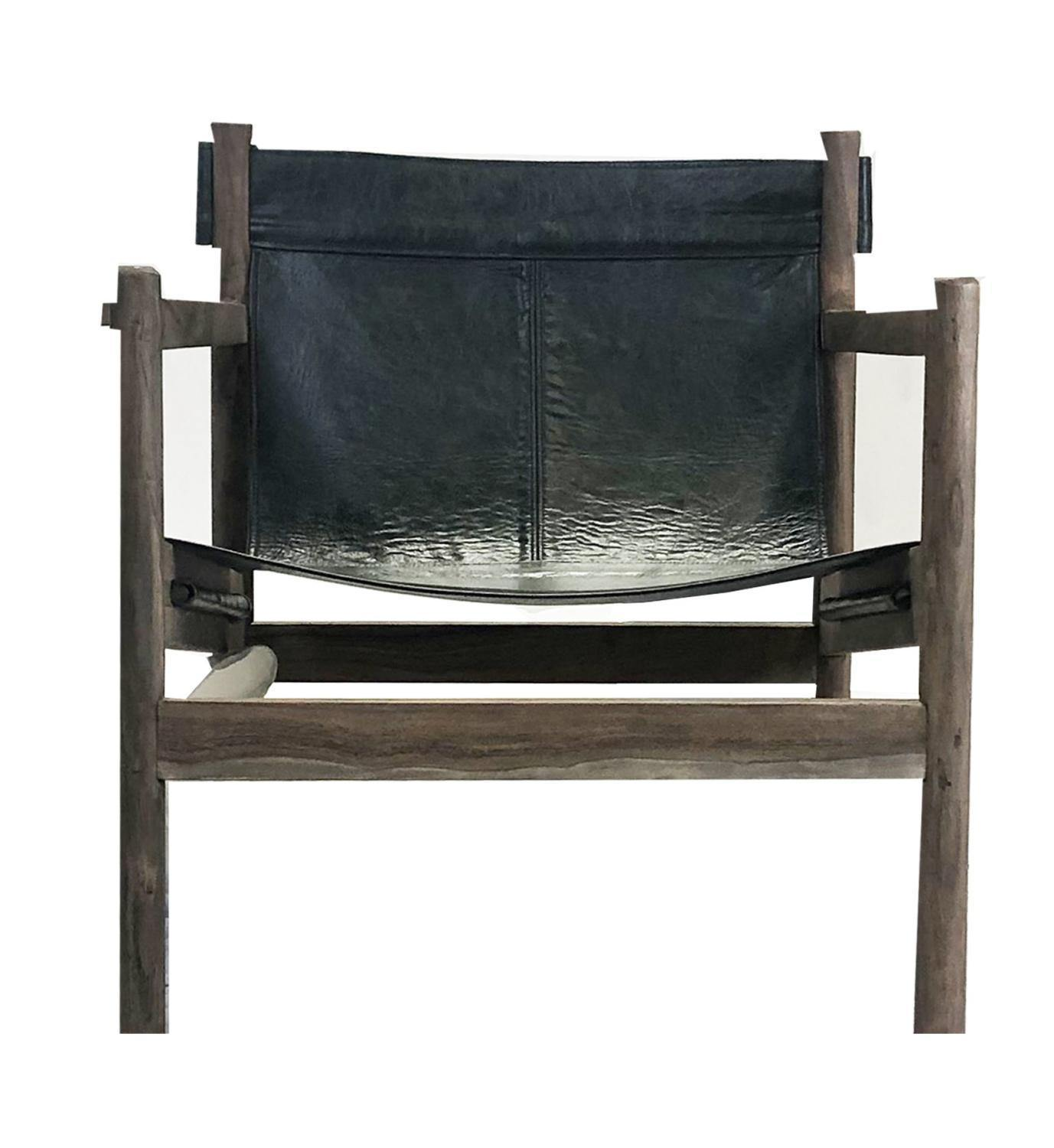Romero Leather Chair-FURNITURE-Maker & Moss