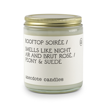 Rooftop Soirée - Peony & Suede-CANDLE-Maker & Moss