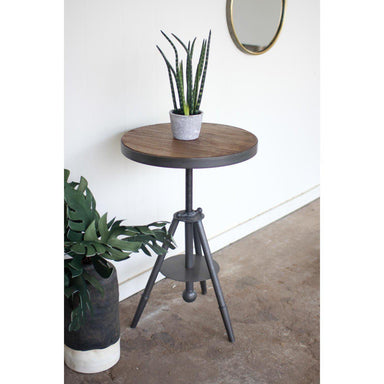 Round Side Table-FURNITURE-Maker & Moss