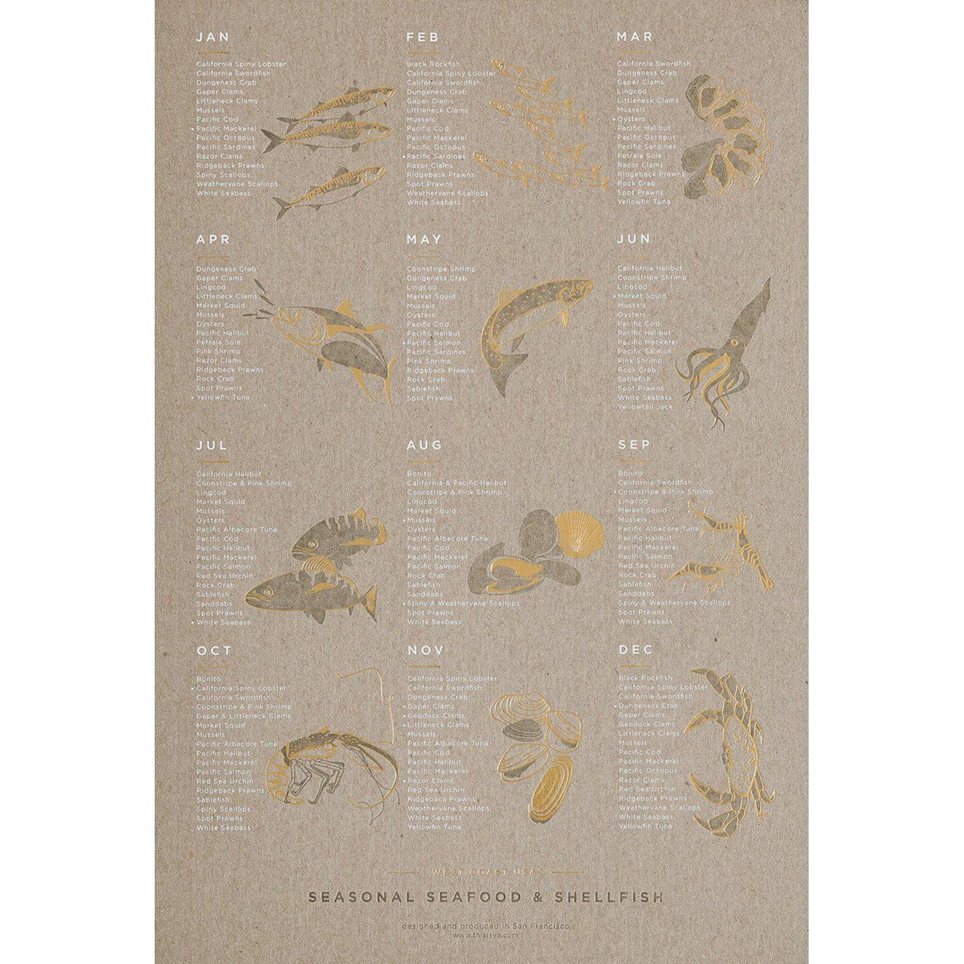 Seasonal Seafood Calendar-GALLERY-Maker & Moss