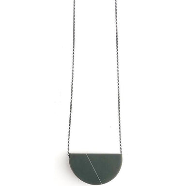 Sofie Necklace - Dark Gray Platinum-Jewelry-Maker & Moss