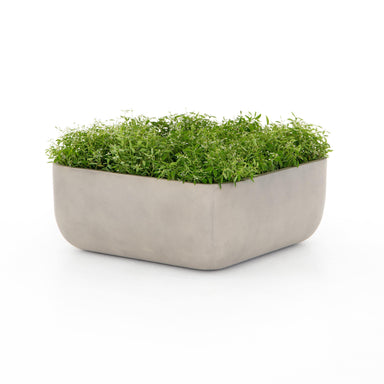 Sonoma Low Square Planter-Large-DECORATIVE-Maker & Moss