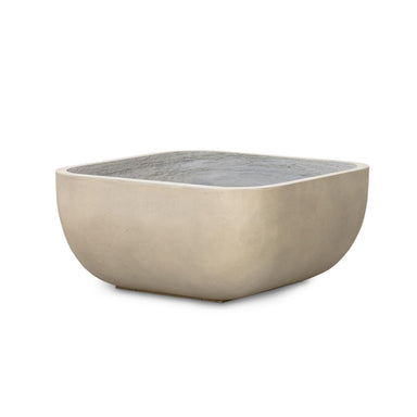 Sonoma Low Square Planter-Small-Grey-DECORATIVE-Maker & Moss