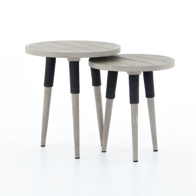 Sulla End Table, Set Of 2-FURNITURE-Maker & Moss