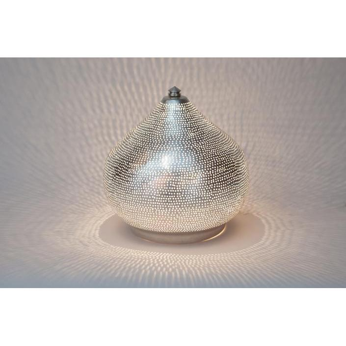 Table Lamp Filisky Small Nickel-Lighting-Maker & Moss