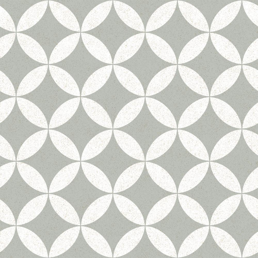 Terrazzo Star Stone Grey Peel and Stick Wallpaper-LIFESTYLE-Maker & Moss