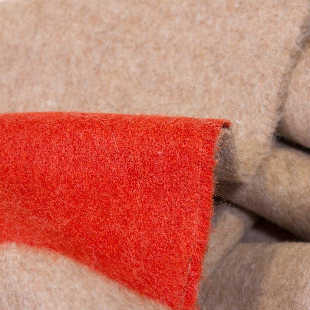 The Siempre Recycled Blanket Sand-TEXTILES-Maker & Moss